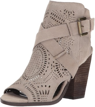 Naughty Monkey Women's Zuzanna Ankle Bootie Light Taupe 9.5 M US