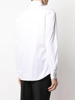 Glanshirt Fil d'Ecosse slim fit shirt