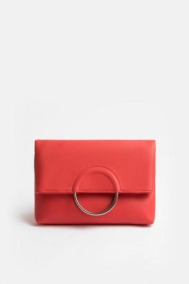 Coast Ring Detail Clutch Bag