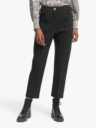 Somerset by Alice Temperley Slim Leg Trousers, Black