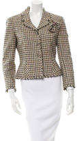 Chanel Fitted Tweed Blazer