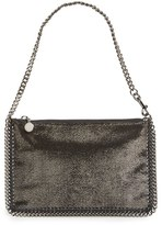 Stella McCartney 'Falabella' Pouch With Convertible Strap - Grey