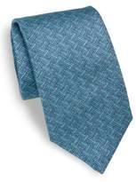 Isaia Weave Silk Tie