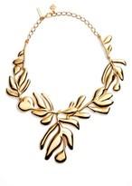 Oscar de la Renta Women's Graphic Botanic Collar Necklace