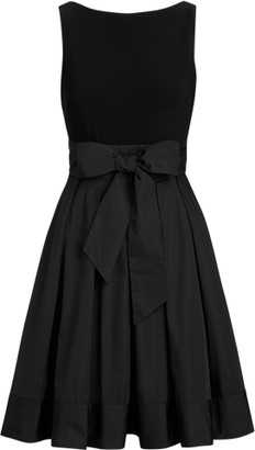 Ralph Lauren Sleeveless Taffeta Dress