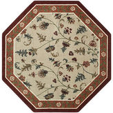 JCPenney Brumlow Flower Patch Washable Octagonal Rug