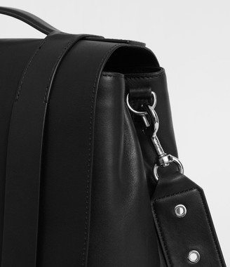 AllSaints Clip Leather Backpack