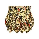 John Galliano John GallianoGirls Black Floral Print Skirt