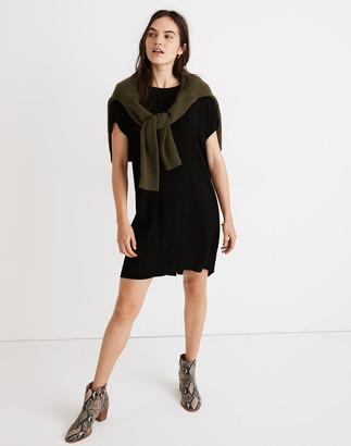 Madewell Crewneck Button-Back Easy Dress