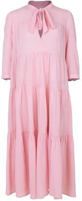 HONORINE Rose Long Giselle Dress