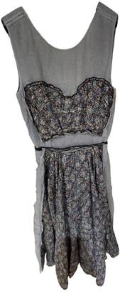 Louis Vuitton Blue Tweed Dresses