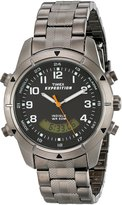 Timex Men's Expedition T49826 Gunmetal Stainless-Steel Quartz Watch