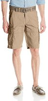 Lee Men's New Dungarees Belted Compound Zipper Cargo Short