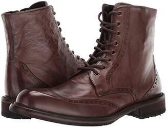J&M EST. 1850 Lofting Wing Tip Boot (Dark Tan) Men's Boots