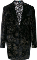 Etro floral two buttoned jacket