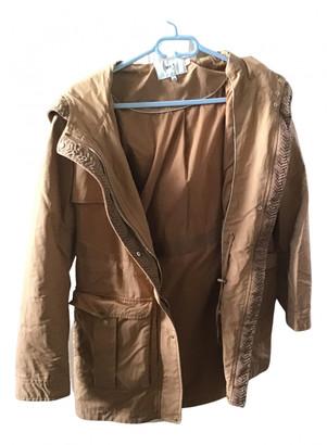 MKT Studio Camel Cotton Coats