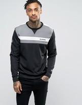 New Era Poly Sweatshirt With Raiders Panel Logo