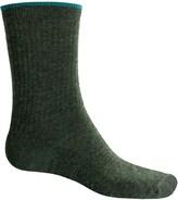 Woolrich Tipped Socks - Merino Wool Blend, Crew (For Women)