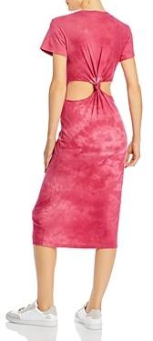 LnA Mayer Cutout Back Tee Dress