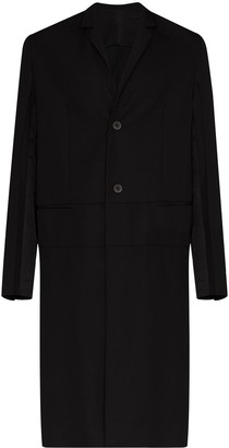 Haider Ackermann Officer Miles single-breasted coat