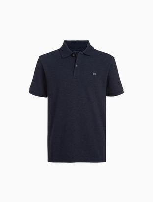 Calvin Klein Boys Micro Pique Polo Shirt