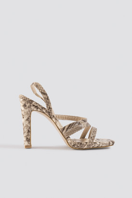 Trendyol Snake Pattern High Heels