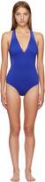 Stella McCartney Blue Neoprene & Mesh Swimsuit