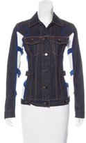 Jean Paul Gaultier Cutout-Accented Denim Jacket