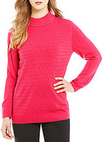 Allison Daley Mock Neck Pullover Sweater