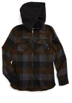 Vans Boy's Never Mind Full Zip Hooded Jacket