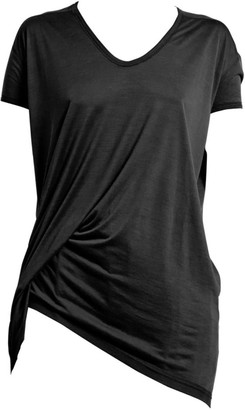 Rick Owens Hiked Drape T-Shirt