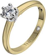 Leo Diamond 18ct yellow & white gold 0.33ct I-SI2 ring