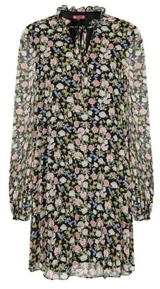 Dorothy Perkins Womens Chi Chi Multi Colour Printed Shift Dress