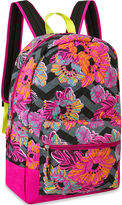 Asstd National Brand Cotton Quilted Floral Backpack