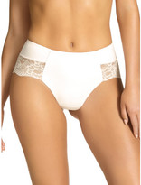 Kayser Eva Micro And Lace Semi Control Hi Cut Brief