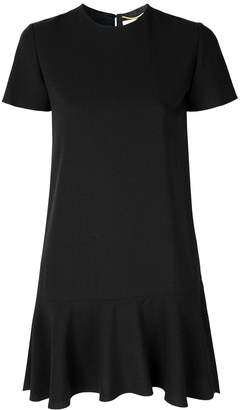Saint Laurent short sleeve mini dress
