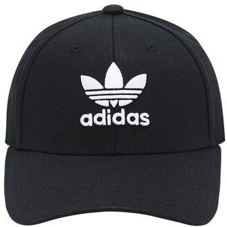 adidas Classic Trefoil Cotton Baseball Hat