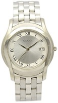 Gucci 5500M Stainless Steel with Silver Dial 35mm Mens Watch