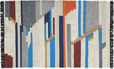 CB2 Building Blocks Rug 5'x8'
