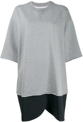 MM6 MAISON MARGIELA Oversized Sweatshirt Dress