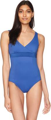 Seafolly Women's Wrap Front Maillot