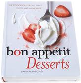 Bon Appétit All Things Sweet Desserts Cookbook