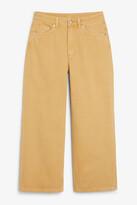 Thumbnail for your product : Monki Mozik beige jeans