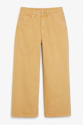 Monki Mozik beige jeans