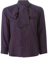 DSQUARED2 checked shirt - women - Cotton - 44