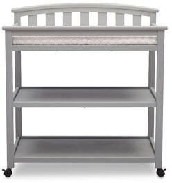 Delta Children Freedom Changing Table with Pad Color: Gray