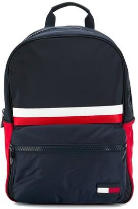 Tommy Hilfiger colour block backpack
