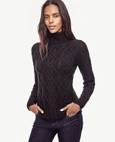Ann Taylor Aran Cable Stitch Sweater