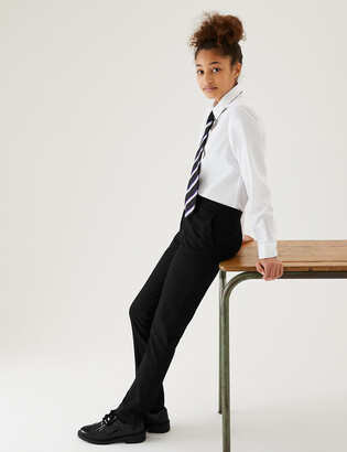 Marks and Spencer Girls' Super Skinny Leg School Trousers