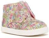Toms Canvas Ditsy Floral Shoe (Baby & Toddler)
